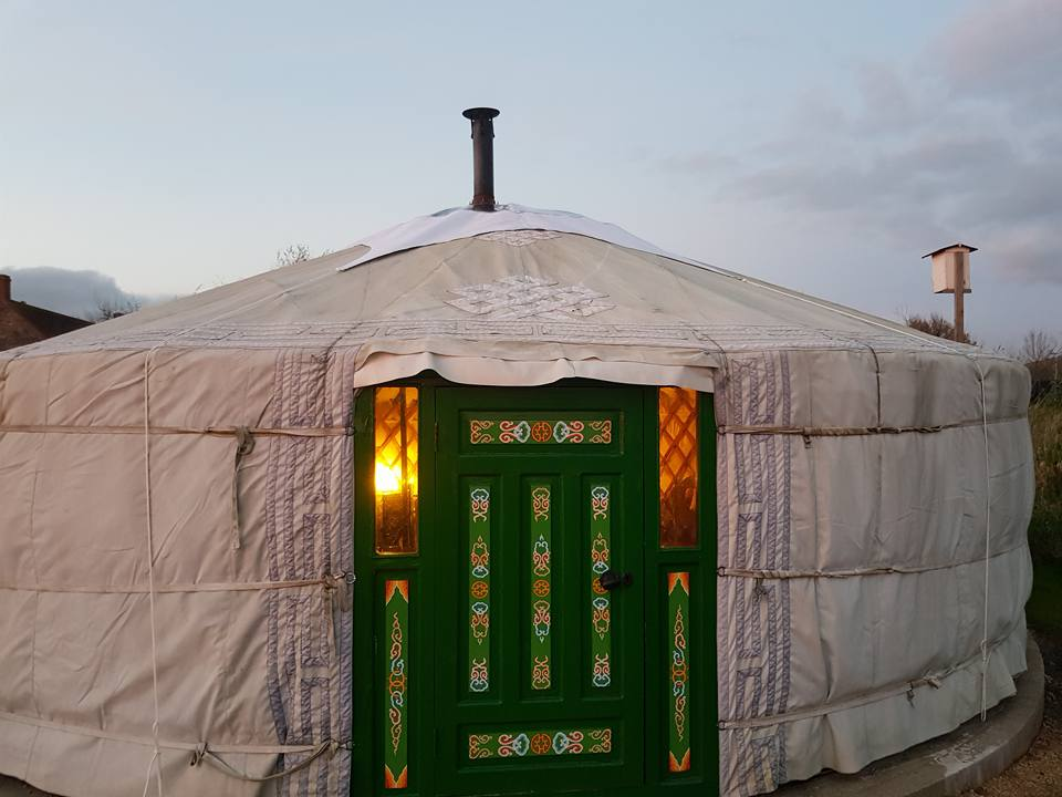 Caalm Camp Yurt