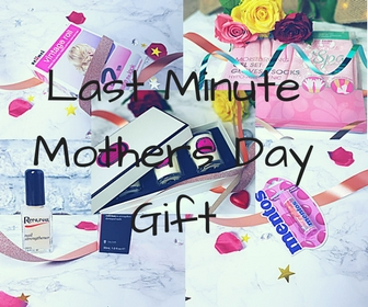 Last minute Mothers day gifts.