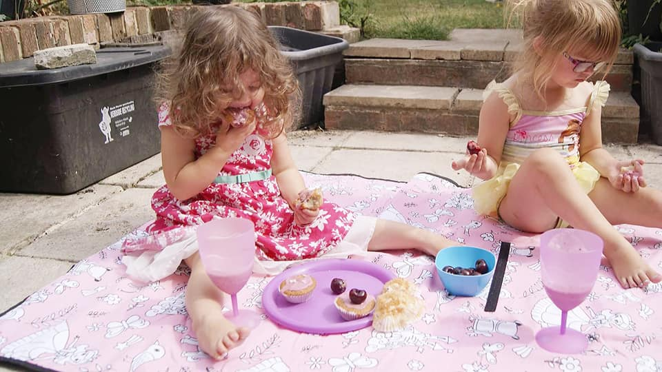 cherry filled picnic