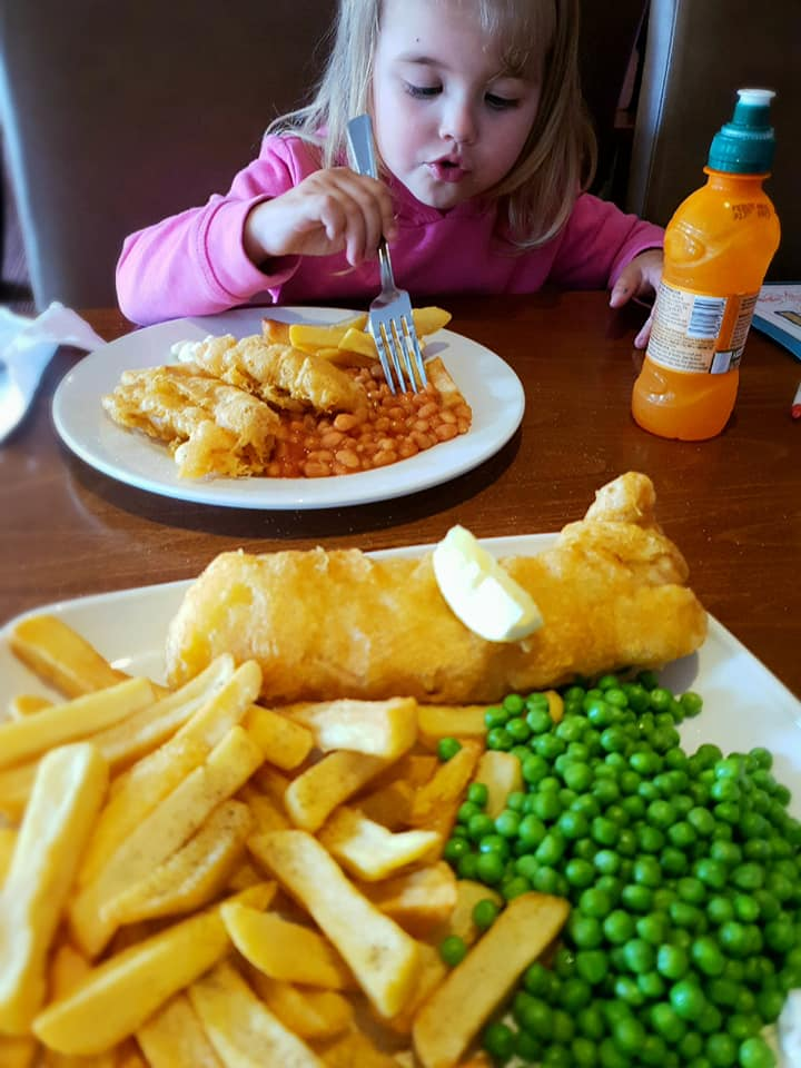 our fish and chips