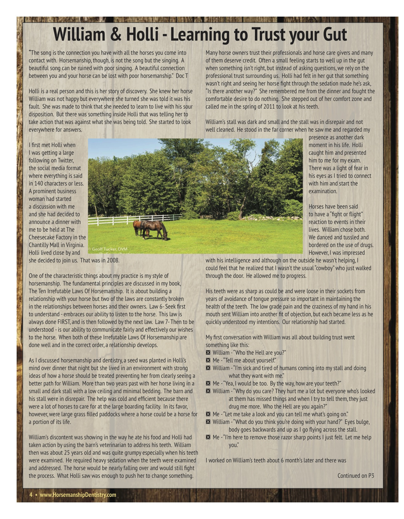 The Equine Practice Rounds™ Vol 1 Issue 1 page 4 of 4