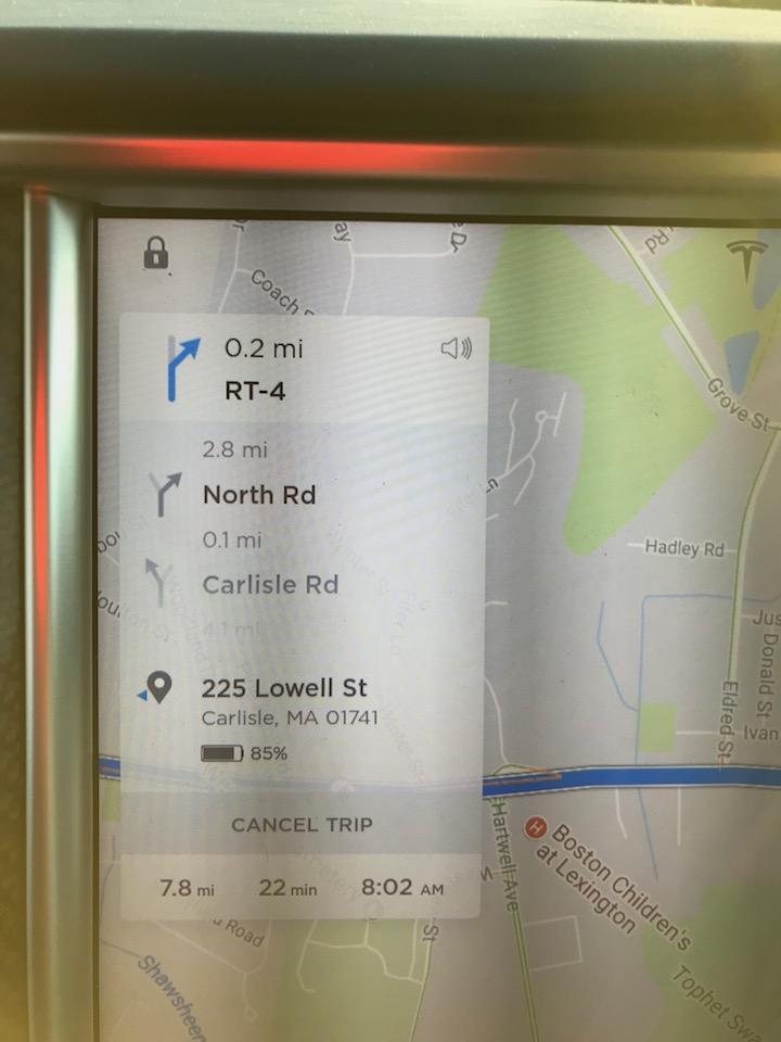 Tesla nav system 8