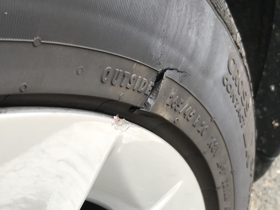 Tesla tire 1