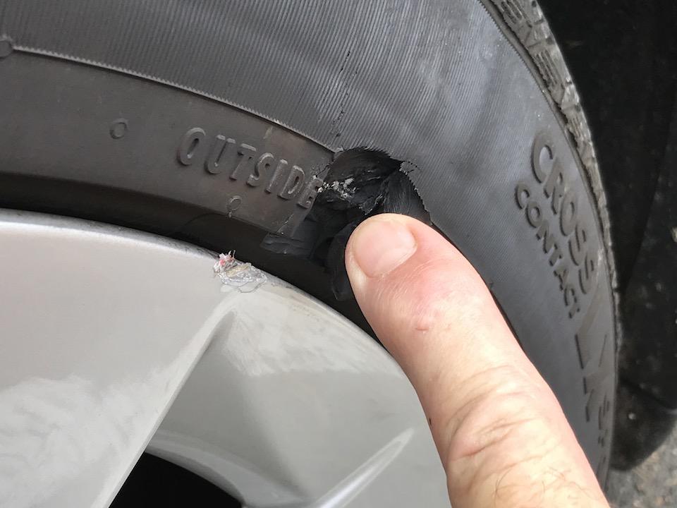 Tesla tire 2
