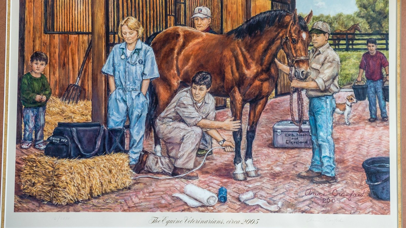 The Equine Practice Inc, image of vets in 2005