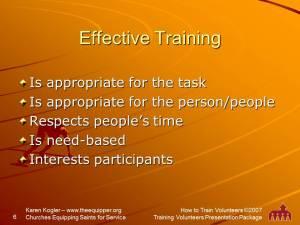 Sample slide 6, Training kit, how