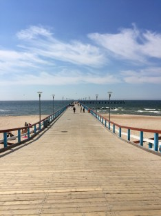 The pier in Palanga