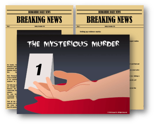 Escape Kit: The Mysterious Murder