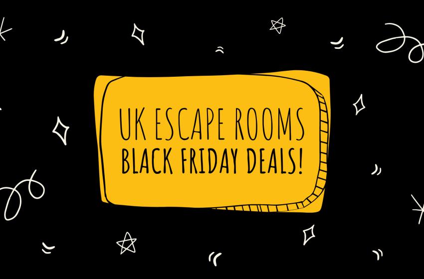 The UK's Top Black Friday Escape Room Deals 2020