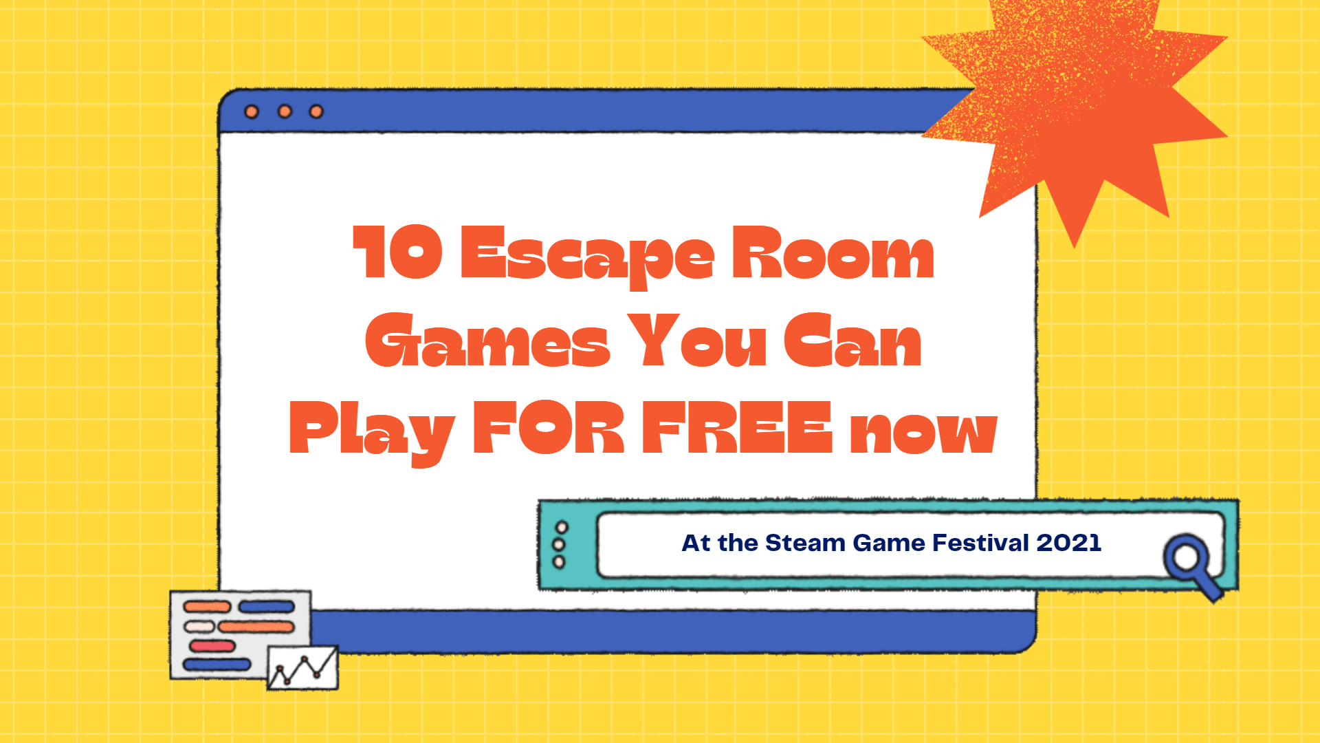 10 Escape Room Video Games you can play for FREE during the Steam Game Festival 2021