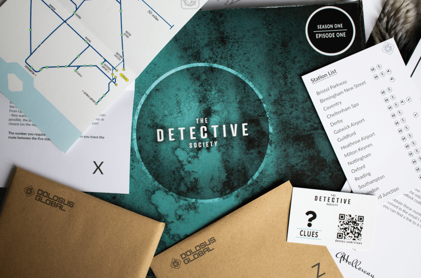 The Detective Society: Season One, Episode One