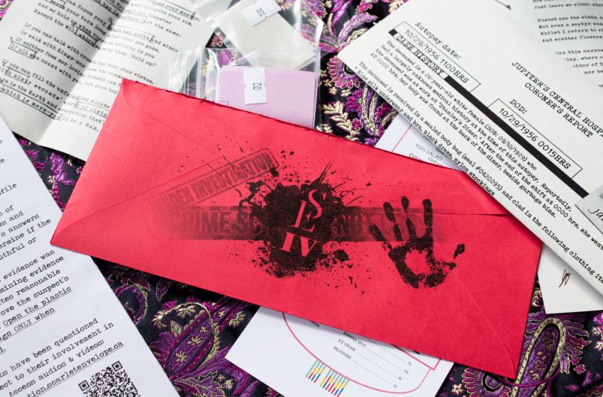 Scarlet Envelope: Breakfast for a Serial Killer