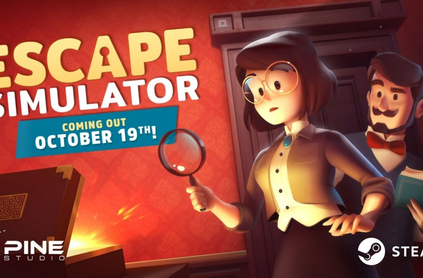 New Puzzle Videogame 'Escape Simulator' launches this October!