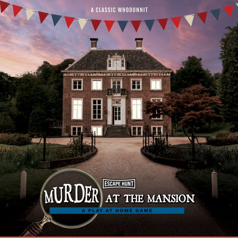 Murder at the Mansion Escape Hunt Review