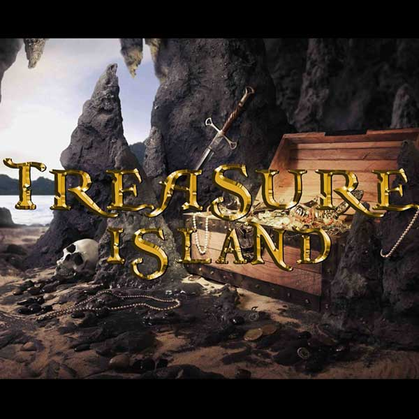 Maze games-treasure island