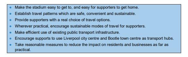 transport strategy objectives