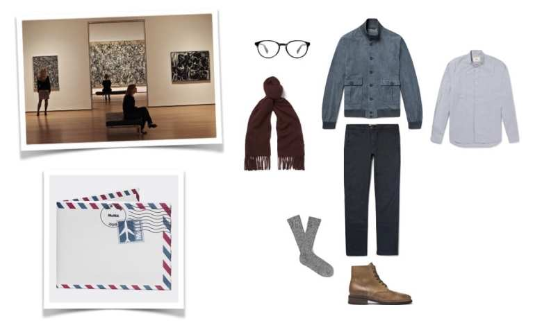 Museum Date Look for Men