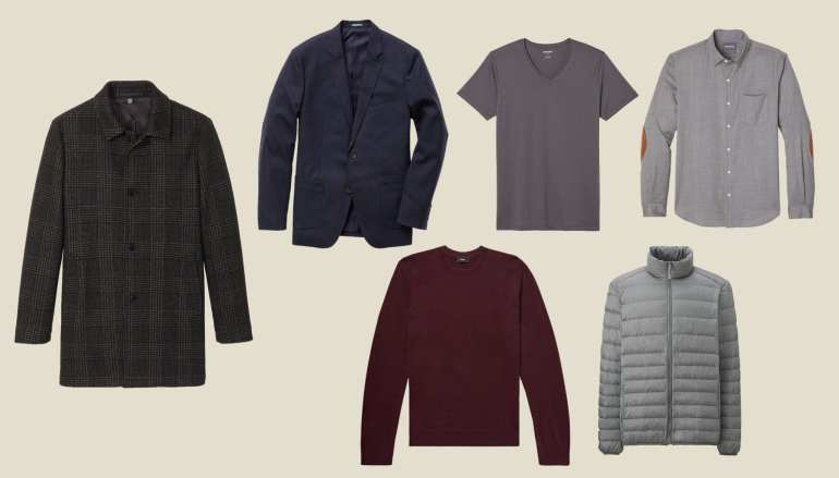 Winter clothes to layer with for men