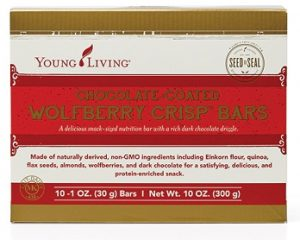 Young Living Chocolate Covered Wolfberry Crisp Bars