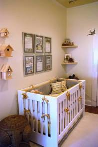 Yellow and Grey nursery design