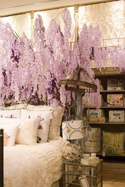 DIY: Paper Wisteria Tree from Anthropologie