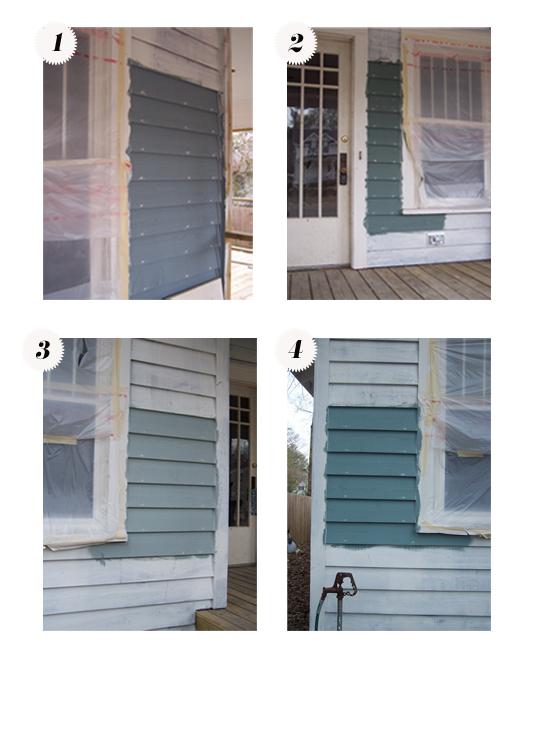 Bungalow 404 paint samples