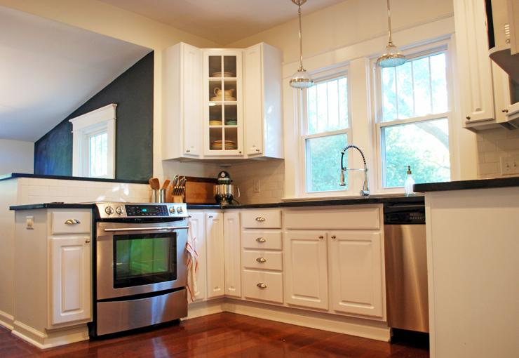 bungalow 404 kitchen after