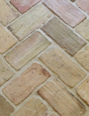 grout brick floor