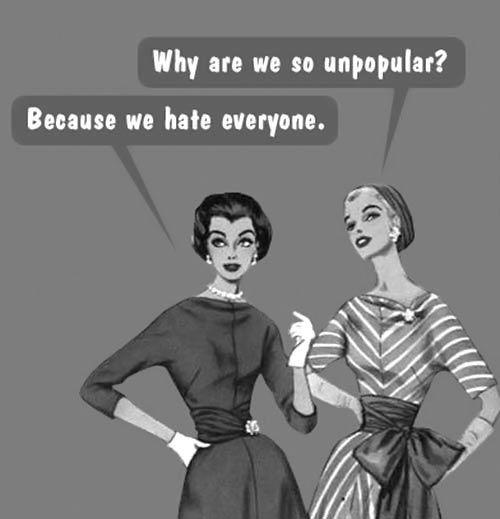 why so unpopular