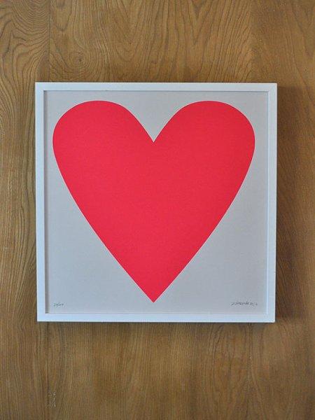 banquet heart print
