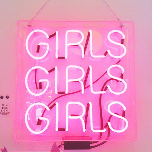 Jen Gotch Ban.do Neon Light Girls Girls Girls