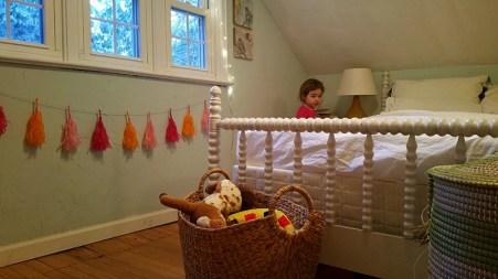 DC's room... Laney is a little mischievous