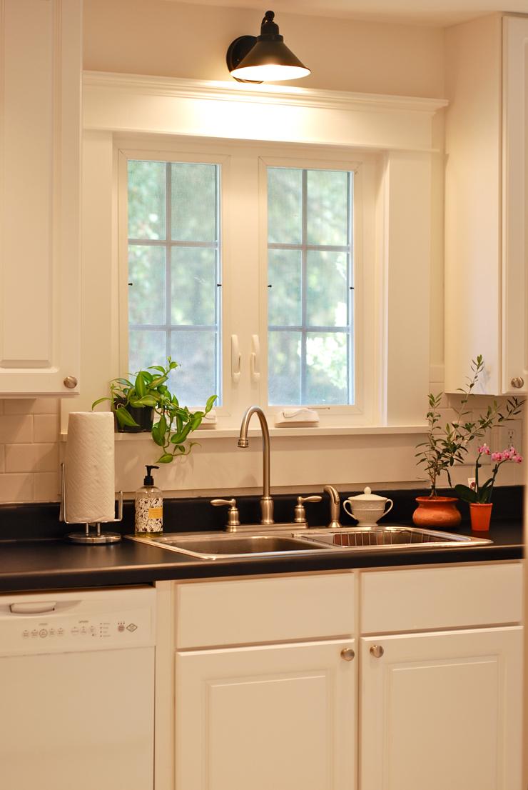 guest cottage kitchen sink