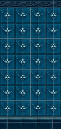 lovely blue tile