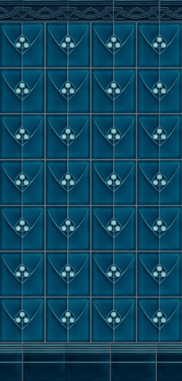 lovely blue tile