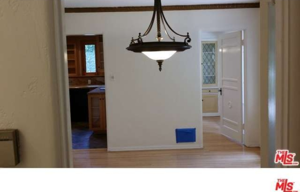 view into hall and kitchen