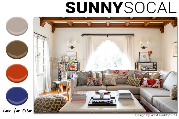 Sunny SoCal Color Combo West Haddon Hall Design