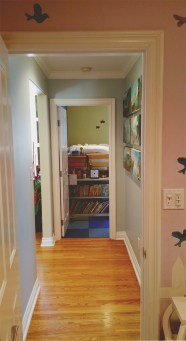 Hallway between Kids Rooms