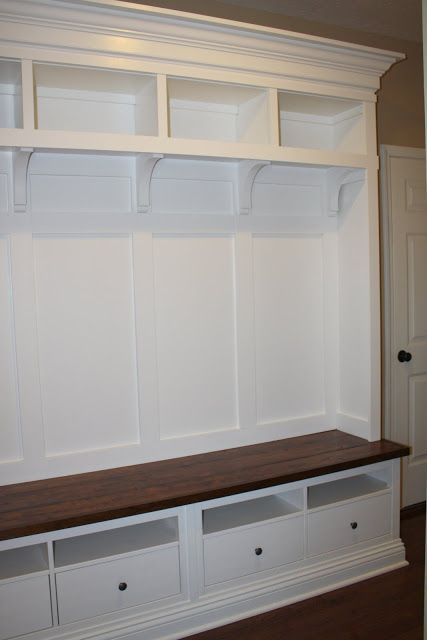 ikea charming nest mudroom