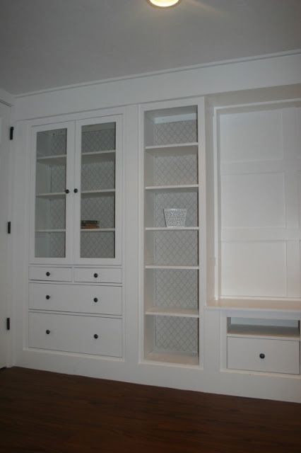 ikea hemnes media built ins