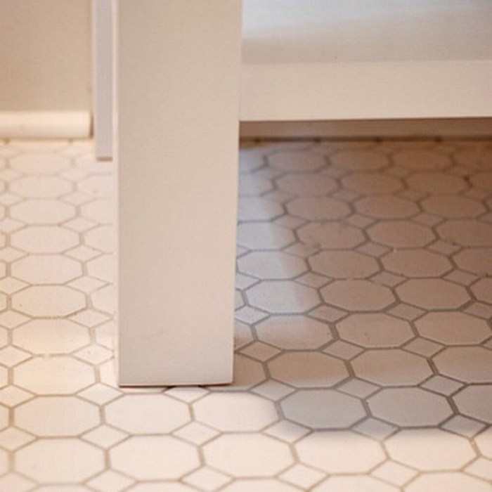 Affordable_hex_tile_from_Lowe_s_looking_smart_in_the_May_Bath_renovation__bathremodel__renovation__tile__theestateofthings