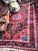 Stack of Persian Rugs at the Alameda Flea Market