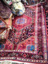 Stack of Persian Rugs at the Alameda Flea Market