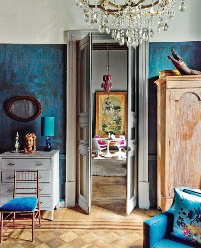 Textured Paint wall sponge paint trend the estate of things
