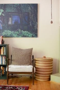decorating with african baskets