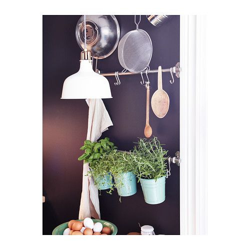 Kitchen Pot Rails ikea