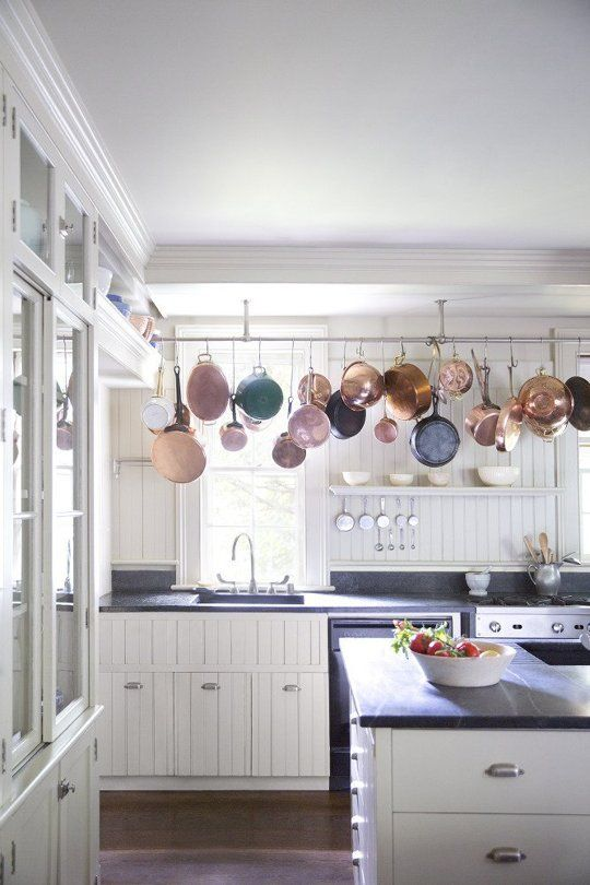 Kitchen Pot Rails ultimate pots