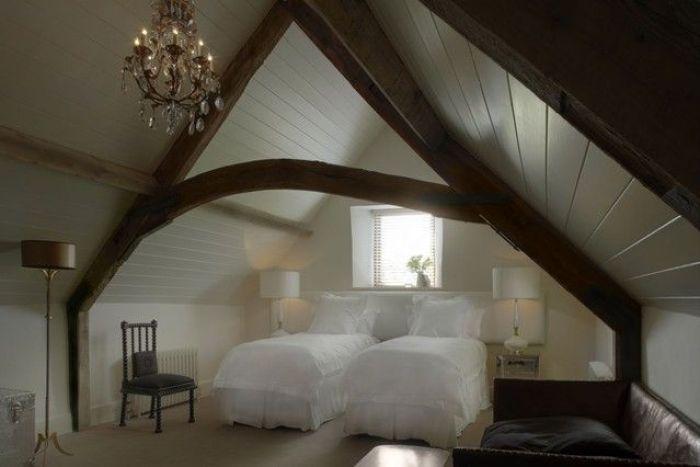 attic romantic embellishment guest room