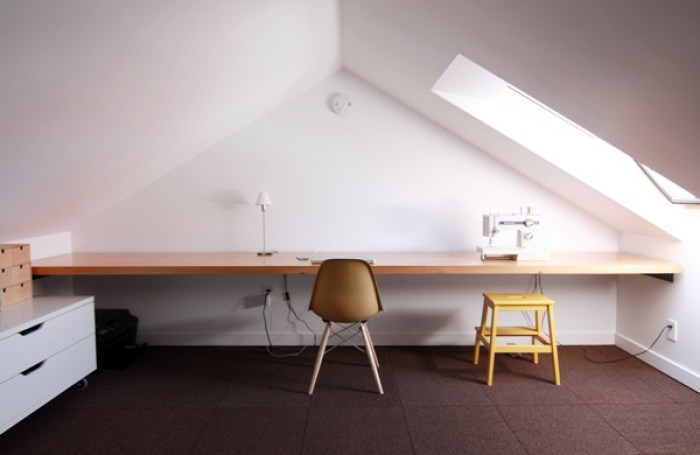 attic working space