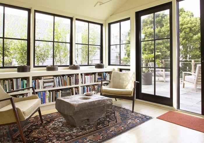 black windows Feldman Architecture